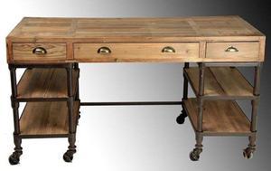 Campana industrial de hierro galbanizado posot class for Muebles industriales antiguos