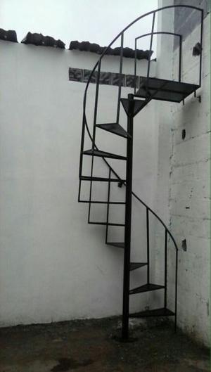 Escalera de herreria piso antiderrapante posot class - Escalera caracol usada ...