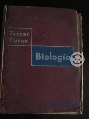Libro de Biología Tercer Curso