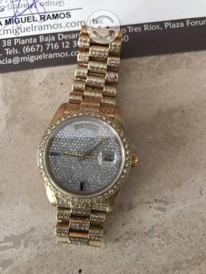 Reloj Rolex Lluvia De Diamantes