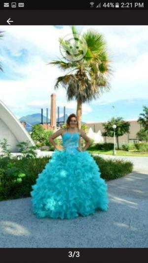 bonito vestido de quinceañera