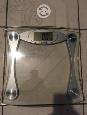 báscula digital de cristal pesa personas