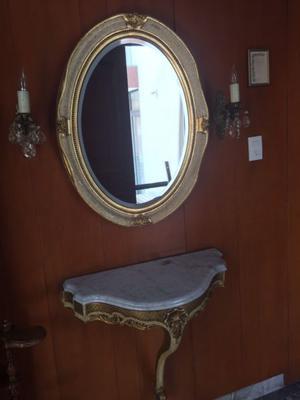 Espejo recibidor vintage
