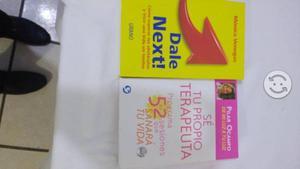 Libro Dale Next y Sé tu propio terapeuta