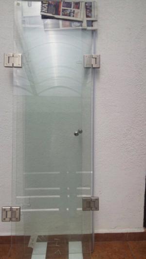 Cancel de cristal templado para baño !