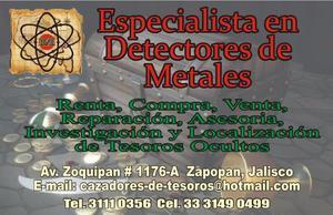 Detectores de Metales en Guadalajara Jalisco