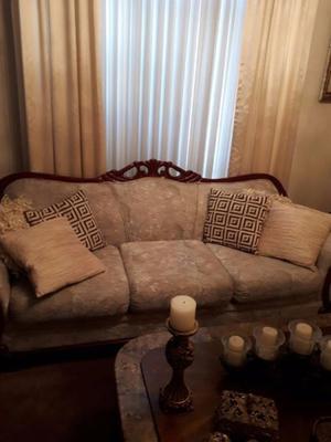 Muebles para sala en perfectas condiciones.