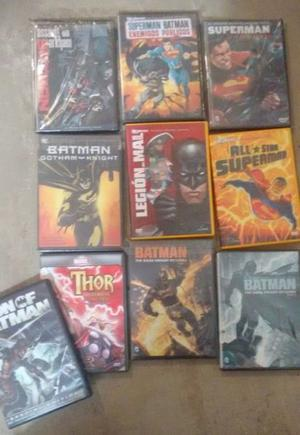 Peliculas DC y marvel lote Batman liga de justica superman