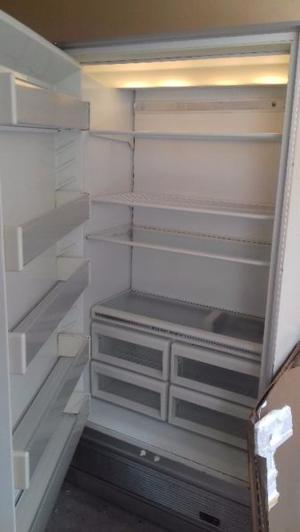 Refrigerador y congelador sub zero