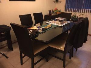 Se vende comedor 6 sillas, Excelente estado !!!!