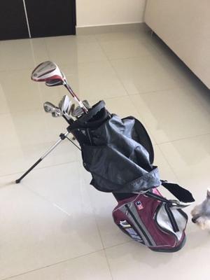 Vendo equipo de golf para niño USK.