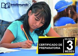 Certificado de preparatoria con validez SEP