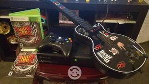 Xbox g control nuevo guitarra y juego original