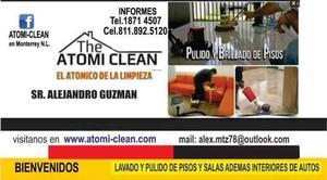 pulidos de pisos y limpieza atomic-ean