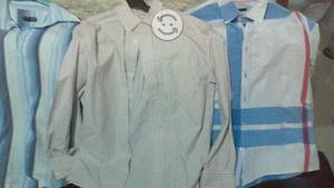 4 camisas de manga larga talla M nuevas