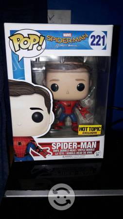 Funko Spiderman Homecoming Hot Topic