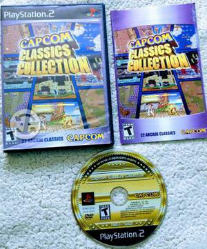 Capcom classics collection para play 2 buen estado