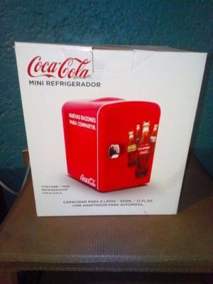 Mini Refrigerador de Coca Cola nuevo