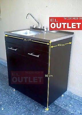 Tarja Sencilla c/gabinete y kit de instalacion