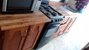 Cocineta de Madera 100% x cambio de estado urge