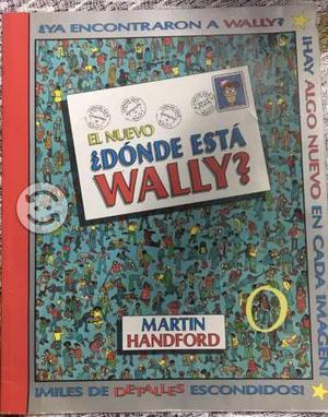 Libro didáctico ¿donde está Wally?