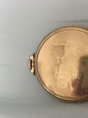 Reloj ferrocarrilero  de bolsillo