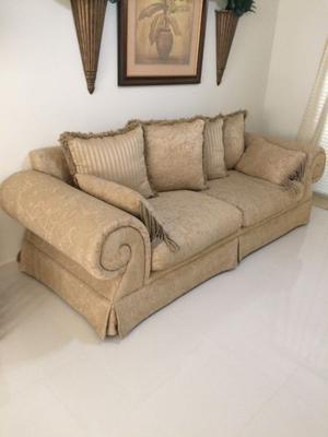 Sofa y love seat beige