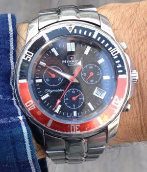 Reloj en acero, Rolex y Nivada para caballero
