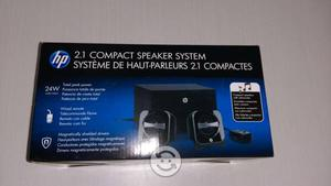Sistema compacto de altavoces HP 2.1