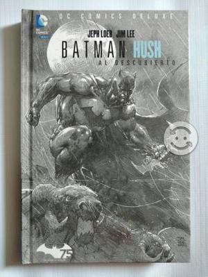 Batman Hush deluxe Dc comics Mx televisa pastadura