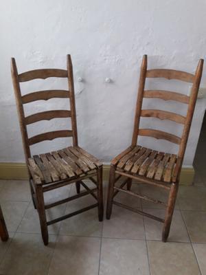 Tortugas artesanales de madera decoradas antiguas posot - Sillas de madera antiguas ...