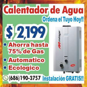 Calentador ahorrador sin gas posot class - Ahorrador de agua ...