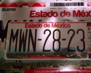 Gestoria vehicular estado de México placas registradas en