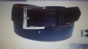 Cinturón de cuero para caballero