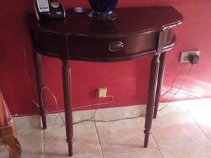 Mesa consoleta con cajón