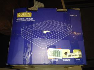 Queen Colchón De Aire Etekcity Elevated Raised Blow Up Cama
