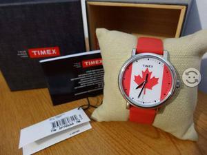 Reloj timex canada,originals,correa de resina,luz