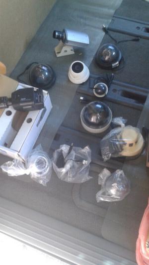 Remato 10 cámaras funcionando