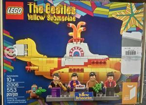 Lego Beatles Submarino Amarillo