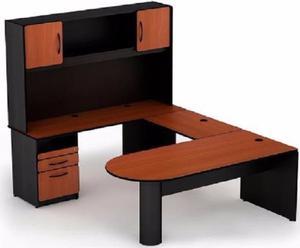 Escritorio archivero y dos sillas posot class for Muebles de oficina usados mexicali
