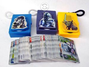 Coleccion tarjetas Star Wars Clone Wars Sabritas