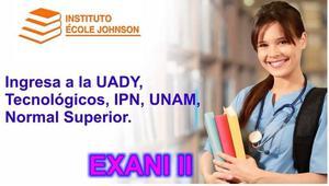 Cursos para EXANI II