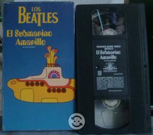El Submarino Amarillo Los Beatles Formato VHS