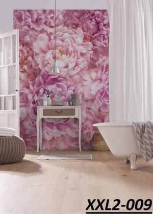 Foto murales Flores y Muro, Varios, Importados