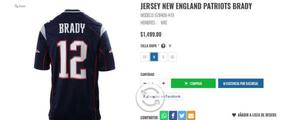 Jersey new england patriots brady