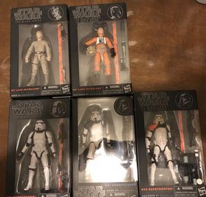 "Paquete de Figuras Star Wars Black Series 6"""