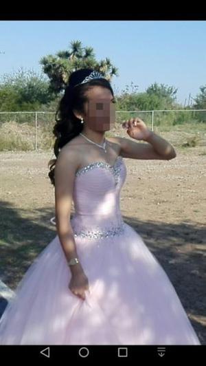 Paquete Vestido Xv Hermoso Color Rosa Coral Posot Class