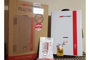 boiler de paso mirage flux 6