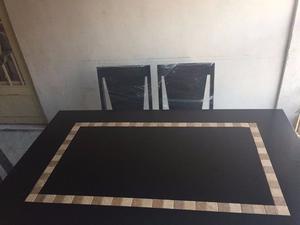 COMEDOR CONTEMPORÁNEO de 6 sillas