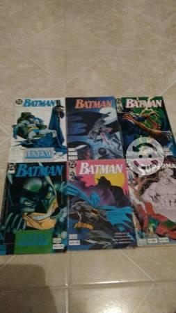Comics de Batman y Superman